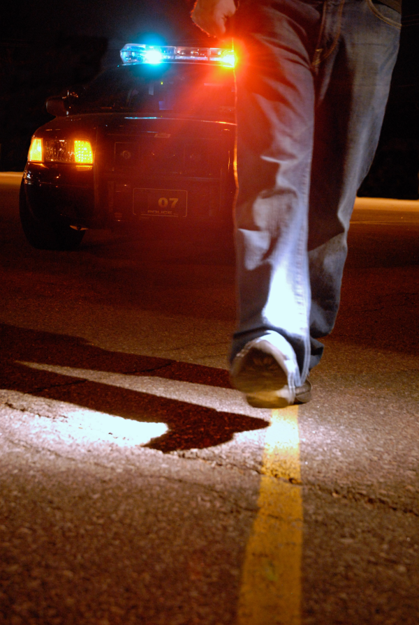 DUI field sobriety evaluations